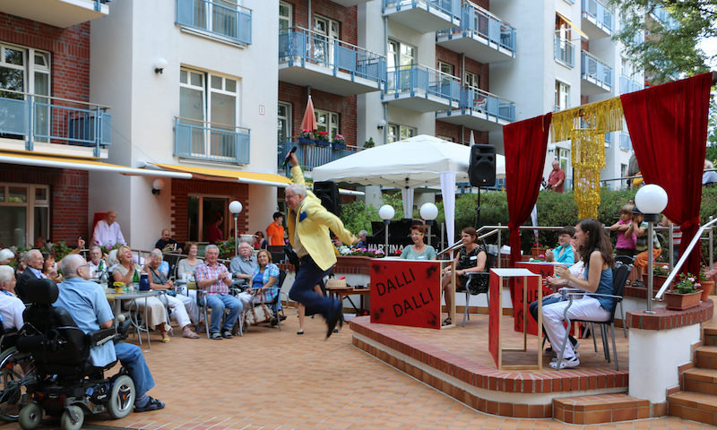 Sommerfest 2015 im Senioren- und Therapiezentrum Haus Havelblick in Berlin Spandau