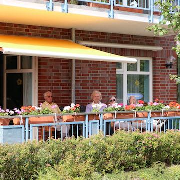 Senioren- und Therapiezentrum Haus Havelblick Tagespflege Terrasse